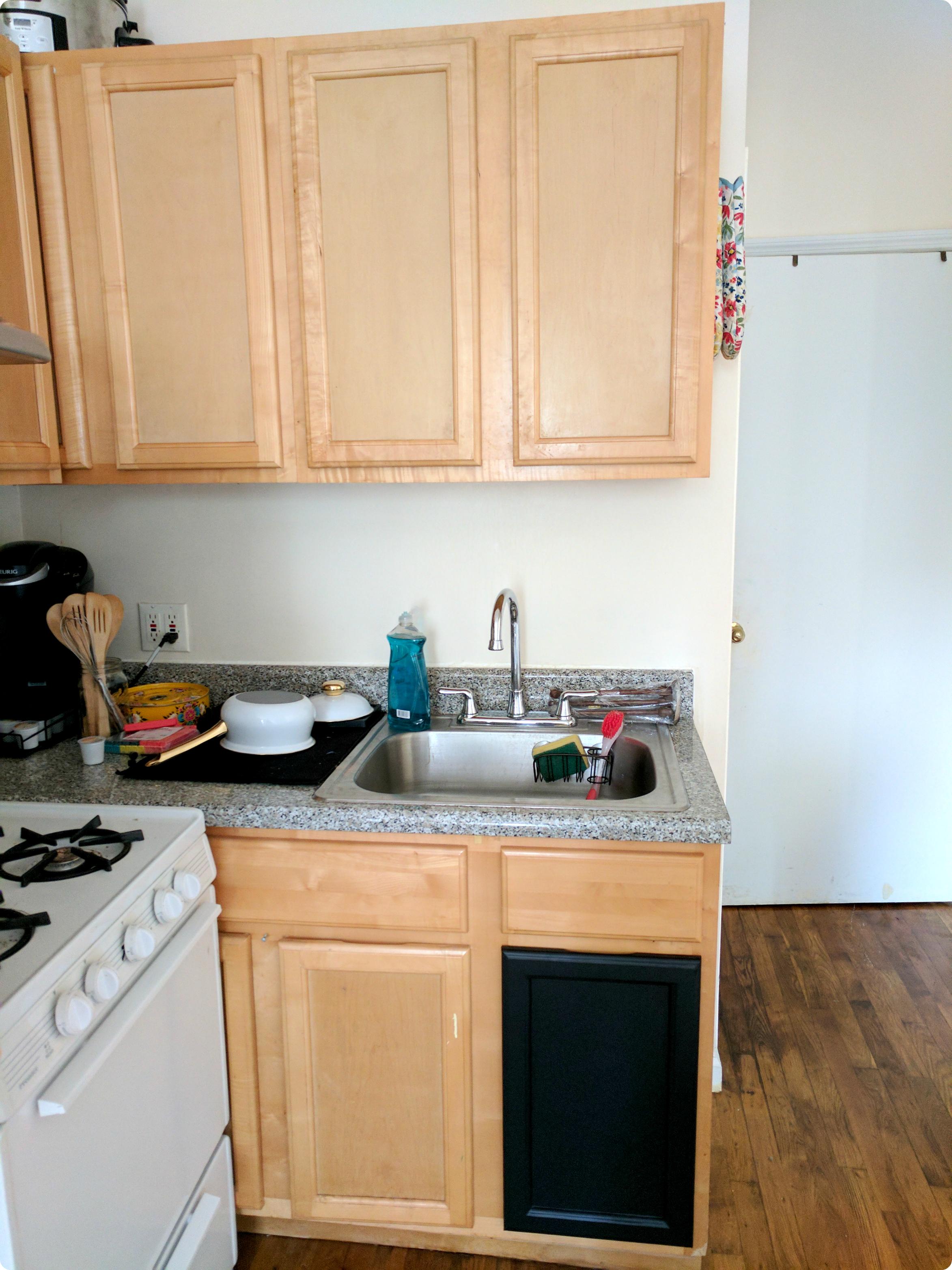 Diy Contact Paper Kitchen Update Part 1
